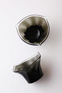 三角鉢(黒)